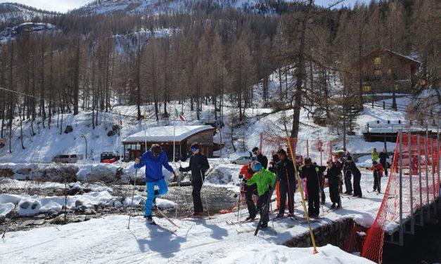 Ski de fond et raquettes à Castérino
